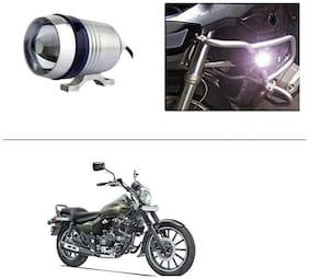 AutoStark U3 LED Motorycle Fog Light Bike Projector Auxillary Spot Beam Light (1Pc) For Bajaj Avenger 220 Street