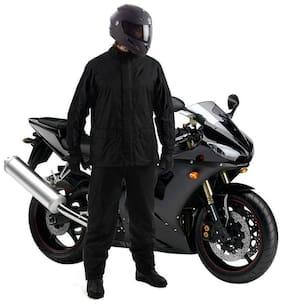 AutoStark Unisex Waterproof Raincoat With detachable Hoods, Unisex Portable Rain Suit (M) For Bajaj Avenger 220 street