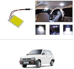 AutoStark White LED Lamp Car Dome Ceiling Roof Interior Reading Light-Maruti Suzuki-800 (Maruti Car)