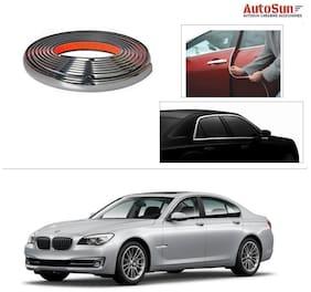 AutoSun 10mm Side Window Stylish Chrome Beading Roll 10 m -  BMW 7-Series (750Li, 760Li, 730Ld) - Old Model