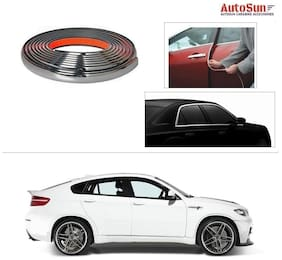 AutoSun 10mm Side Window Stylish Chrome Beading Roll 10 m -  BMW X-6