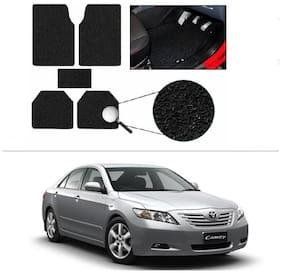 AutoSun Anti Slip Noodle Car Floor Mats Set Of 5 Black Toyota Camry