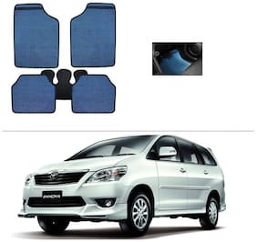 AutoSun Blue Odourless Car Floor/Foot Mat Set Of 5 Toyota Innova