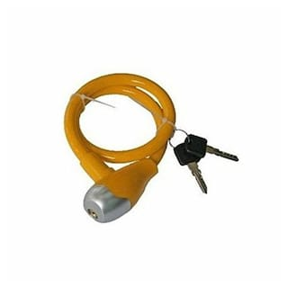 Autosun Cable For Bike And Cycles Helmet Lock (Multicolor )