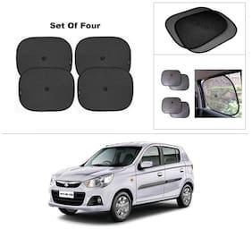 AutoSun Car Window Sunshades And Easy to install (Black) ForMaruti Suzuki Alto-K10