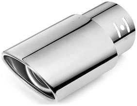 AutoSun Car Exhaust Tube in Tube Silencer Muffler Tip 9550 For  Hyundai Elite i20