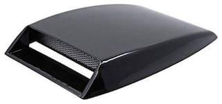 AutoSun Car Turbo Style Air Intake Bonnet Scoop Black For Toyota Qualis