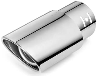 AutoSun Car Exhaust Tube in Tube Silencer Muffler Tip 9550 For  Honda Amaze