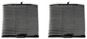 Autosun Car Auto Folding Sunshades Curtains Black (Set Of 2) -Maruti Suzuki Swift Dzire