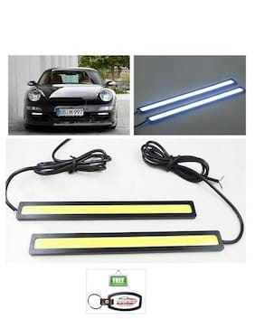 Autosun Cob Led Smd Fog Drl Daytime Running Waterproof Light For Mahindra Verito Vibe