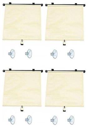 Autosun Delux Car Window Roller Curtain Beige  (Set of 4) - Hyundai Sonata
