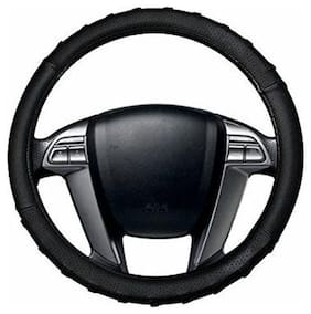 AutoSun Finger Grip Car Steering Cover Black - Maruti Suzuki 800