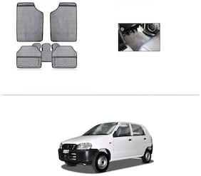 AutoSun Grey Odourless Car Floor/Foot Mat Set Of 5 Maruti Suzuki - Alto (Old)