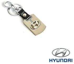 AutoSun Metal Key Chain for Cars  Key Ring - For Hyundai I-20 Elite