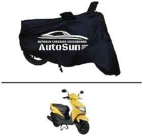 AutoSun Premium Quality Bike Body Cover Black for - Honda Dio