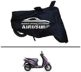 AutoSun Premium Quality Bike Body Cover Black for - Honda Aviator