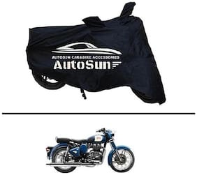 AutoSun Premium Quality Bike Body Cover Black for - Royal Enfield Classic 350