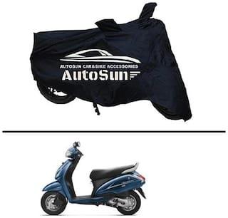 AutoSun Premium Quality Bike Body Cover Black for - Activa 3G