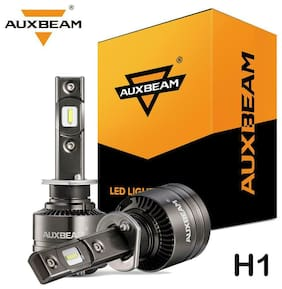 Auxbeam F-T1 SERIES H1 70W 8000LM Hi/Lo LED Headlight & Canbus Decoder No Error