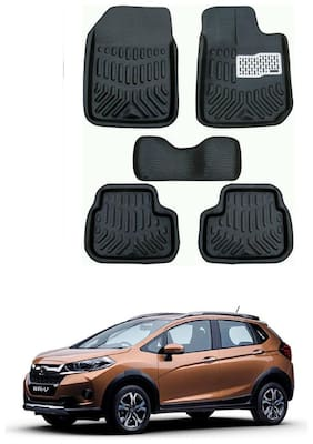 AYW 4D Car Mat For Honda WRV Black Color