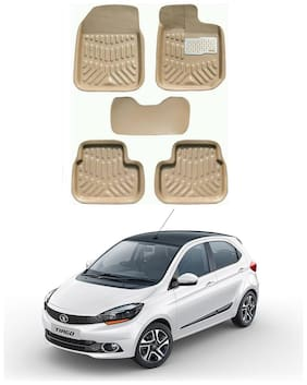 AYW 4D Car Mat For Tata Tiago Beige Color