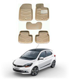 AYW 4D Car Mat For Tata Tiago Beige Color