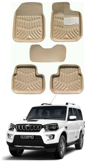 AYW 4D Car Mat For Hyundai Santro Xing Beige Color