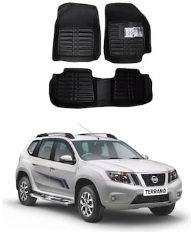 AYW 5D Car Mat For Nissan Terrano Black Color