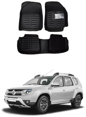 AYW 5D Car Mat For Renault Duster Black Color