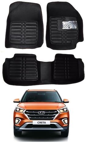 AYW 5D Mat Car For Creta Black Color