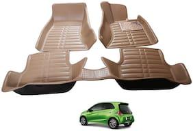 AYW 5D Mat Car For Brio Beige Color