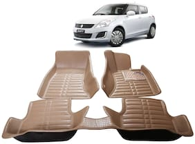 AYW 5D Mat Car For Swift Beige Color