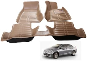 AYW 5D Mat Car For Ciaz Beige Color