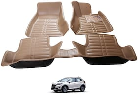 AYW 5D Mat Car For WRV Beige Color