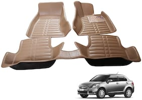 AYW 5D Mat Car For Swift Dzire Beige Color
