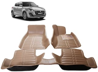 AYW 5D Mat Car For New Swift Beige Color