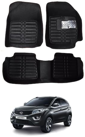 AYW 5D Mat Car For Nexon Black Color