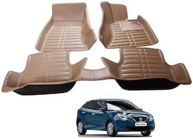 AYW 5D Mat Car For Baleno Beige Color