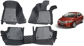 AYW 7D car mats for City Black Color