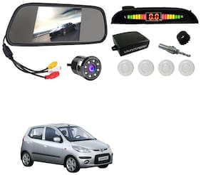 AYW Car Rear View Camera With White Sensor and Screen of Grand i10