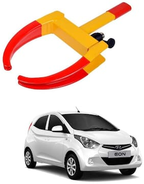 AYW Car Tyre Wheel Lock Anti Theft Towing Wheel Clamp Boot for Eon