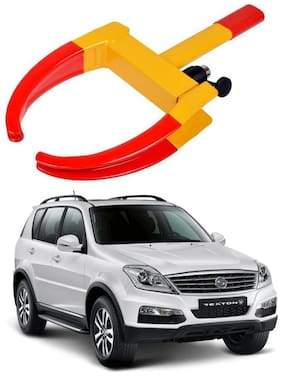 AYW Car Tyre Wheel Lock Anti Theft Towing Wheel Clamp Boot for SsangYong