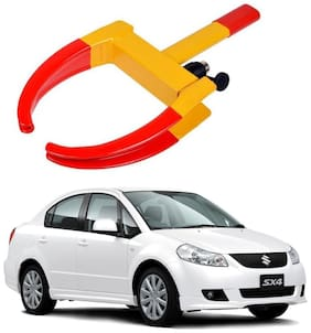 AYW Car Tyre Wheel Lock Anti Theft Towing Wheel Clamp Boot for SX4