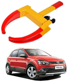 AYW Car Tyre Wheel Lock Anti Theft Towing Wheel Clamp Boot for Polo Cross