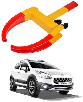 AYW Car Tyre Wheel Lock Anti Theft Towing Wheel Clamp Boot for Mojo