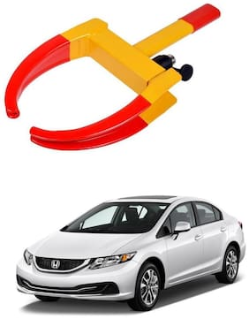 AYW Car Tyre Wheel Lock Anti Theft Towing Wheel Clamp Boot for Civic