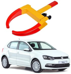 AYW Car Tyre Wheel Lock Anti Theft Towing Wheel Clamp Boot for Polo Exquisite