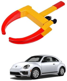 AYW Car Tyre Wheel Lock Anti Theft Towing Wheel Clamp Boot for Beetle