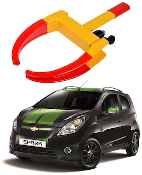 AYW Car Tyre Wheel Lock Anti Theft Towing Wheel Clamp Boot for Spark