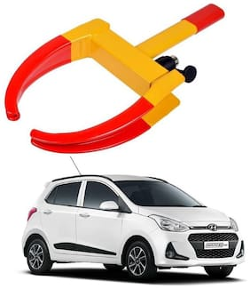 AYW Car Tyre Wheel Lock Anti Theft Towing Wheel Clamp Boot for Grand i10